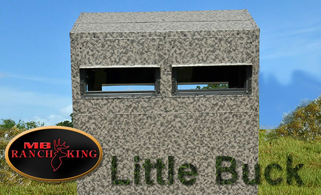 MB Ranch King - Deer stand, hunting stand, shooting house, deer blind, tower stand, tower blind, texas hunting, hunting in texas